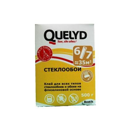 QUELYD Клей обойный Стеклообои 500гр (30)
